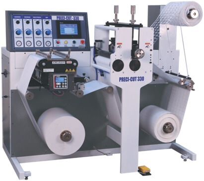 High Speed Rotary Die Cutting Machine For Bar-Code Labels