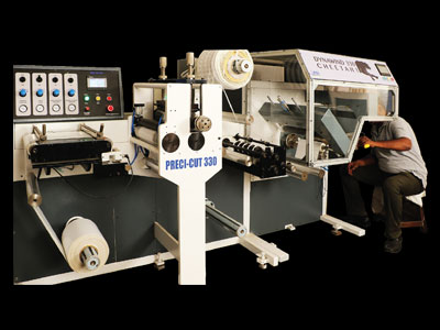 Rotary Die-Cutting With Turret Rewinder – Dynawind 330 Cheetah